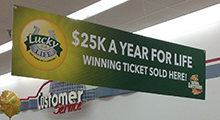 Hy-Vee LFL Ticket Banner