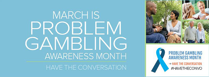 Problem Gambling Awareness Month 2