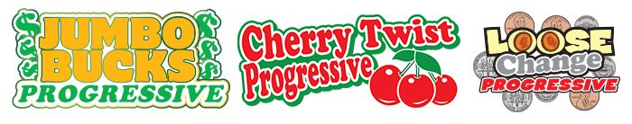 Progressive Jackpot Logos