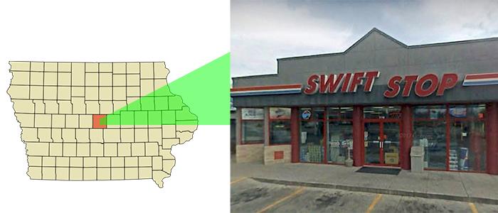 Swift Stop in Ames