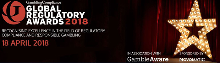 Gaming Compliance Award Nominees