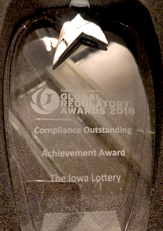 Global Regulatory Award 2018: Compliance Outstanding Achievement Award