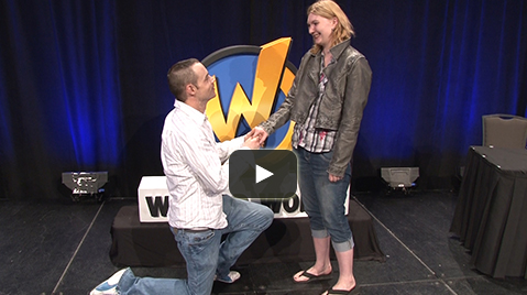 Proposal at Comic Con