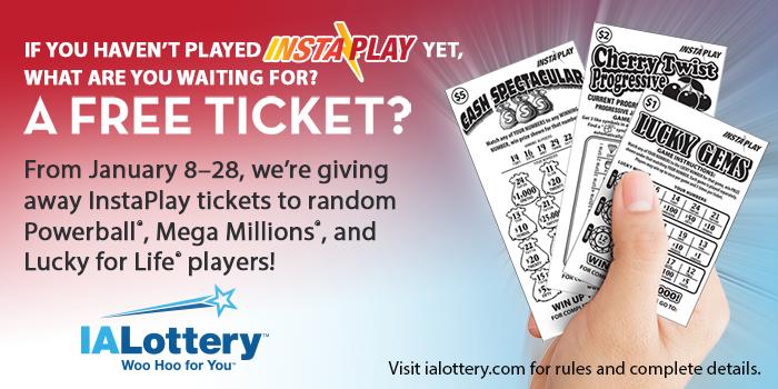 ialottery blog: FREE Tickets To Be Randomly Given Away With