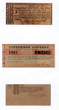 Historic Lottery Tickets