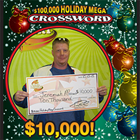 Jeremiah Meewes $10K_$100K Holiday Mega Crossword