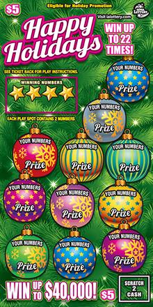 Happy Holidays Ticket 110415