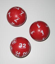 Actual Powerball Balls_Retired