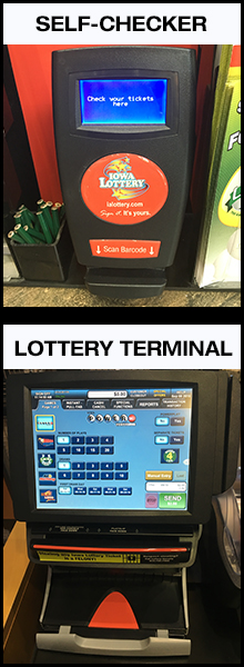 ialottery blog: Do the Lottery Terminal and Self-Checker