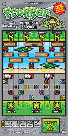 Frogger Ticket