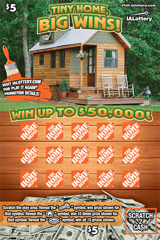Tiny Home Big Wins Ticket Image