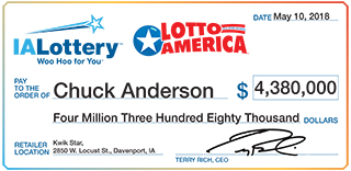 Charles Anderson_Lotto America_051018