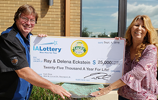 Ray and Delena Eckstein_L4L Winners