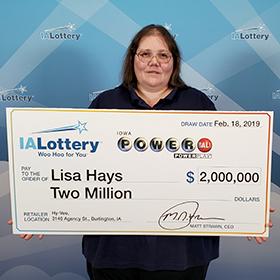 Lisa Hays 2M PBPP