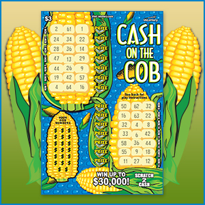 Cash on the Cob Scratch Game