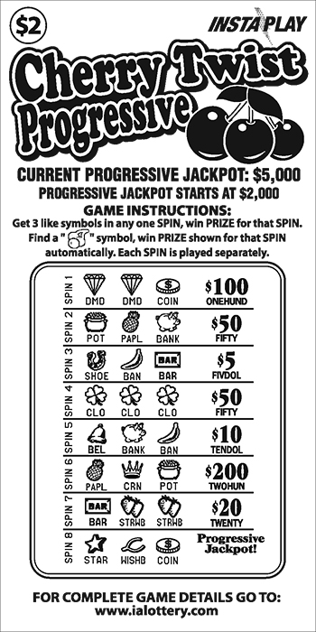 Game #141_Cherry Twist Progressive_InstaPlay_Ticket Image