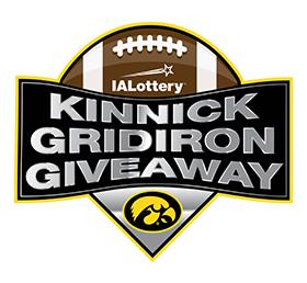 Kinnick Gridiron Giveaway Logo