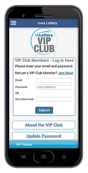 Change Password in App