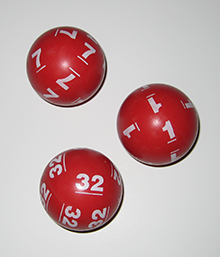Actual Powerball Balls_Retired