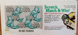 Scratch Match and Win_First Lottery Scratch Ticket