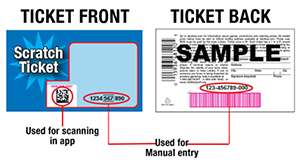 Example Ticket in App
